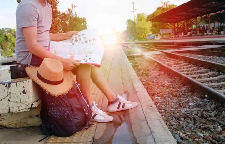 backpack bag blur commuter